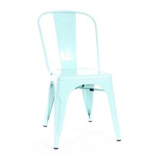 Amalfi Matte Mint Steel Side Chair (Set of 4)