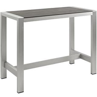 Outdoor Patio Aluminum Bar Table
