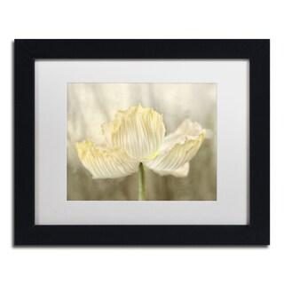 Cora Niele 'Sunshine Poppy' Matted Framed Art
