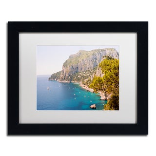 Ariane Moshayedi 'Capri Vista' Matted Framed Art