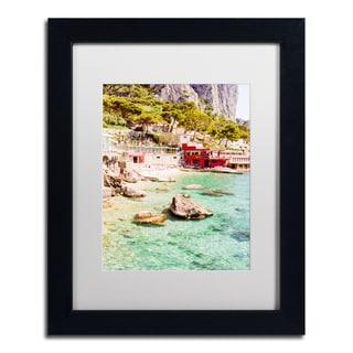 Ariane Moshayedi 'Capri Marina' Matted Framed Art