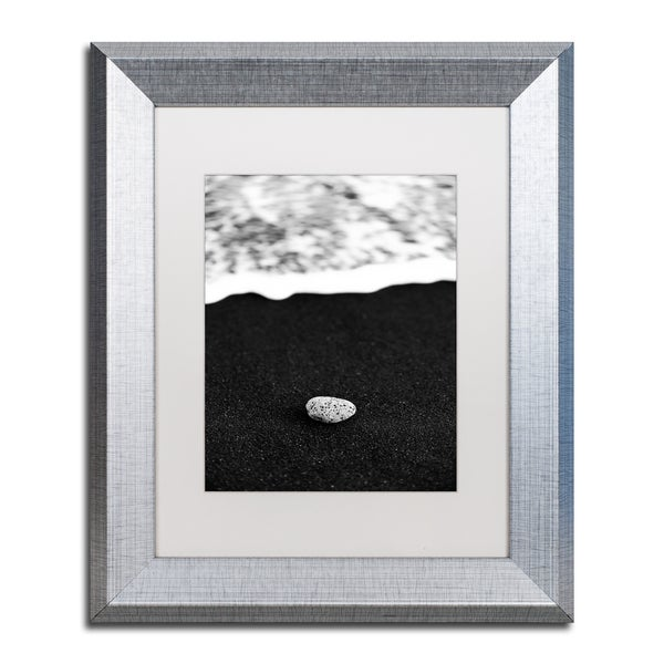 Philippe Sainte-Laudy 'Rocked by the Waves' Matted Framed Art