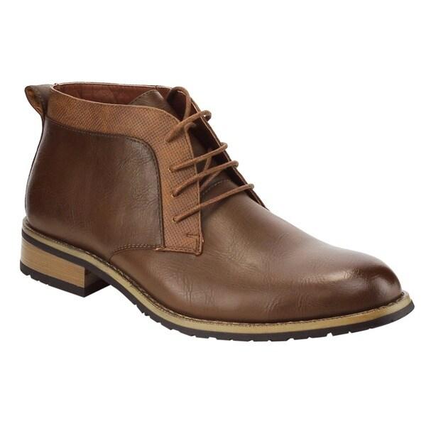 Ferro Aldo Men's AC98 Chukka Desert Lace-up High-top Work Boots