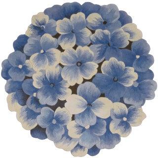 Nourison Bloom Blue Area Rug (2'6 x 3'9)