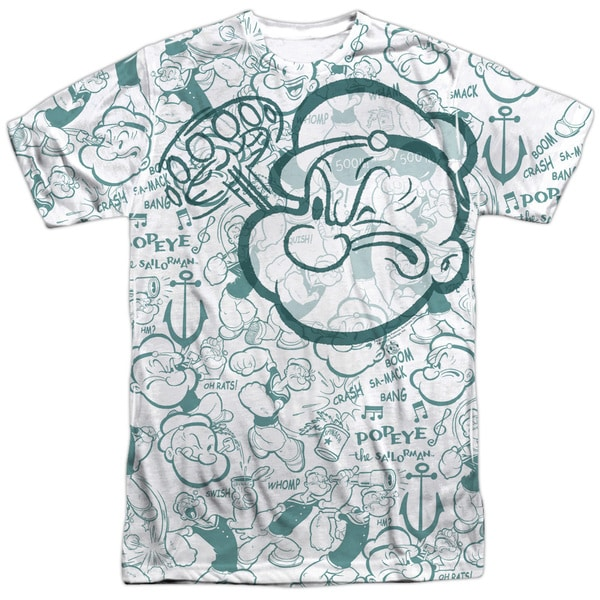 Popeye/Repeat Sailor (Front/Back Print)