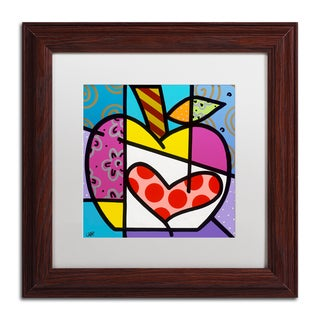 Roberto Rafael 'Big Apple III' Matted Framed Art