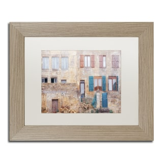 Cora Niele 'Facade II' Matted Framed Art