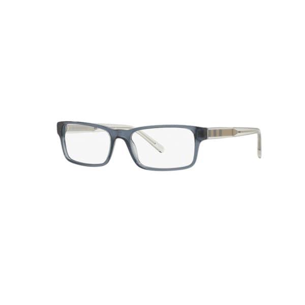 Burberry BE2223F 3013F Blue Plastic Rectangle Eyeglasses w/ 54mm Lens