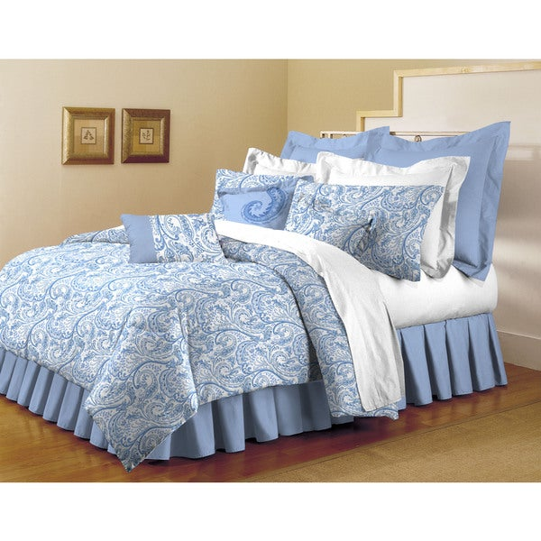 Blue Makayla Super Soft 7-piece Comforter Set