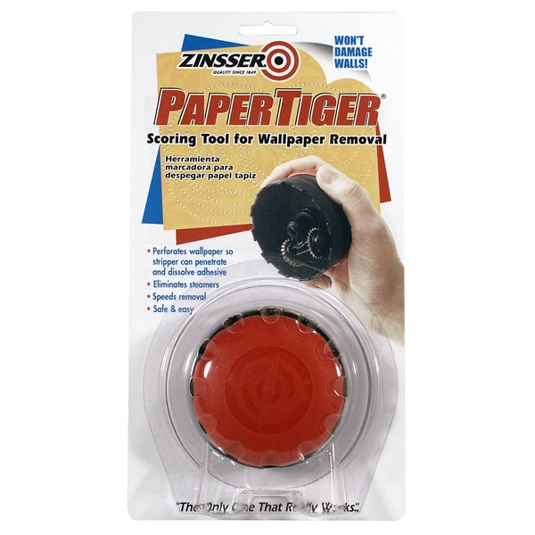 Zinsser 02966 1 Head Papertiger Wallcovering Scoring Tool