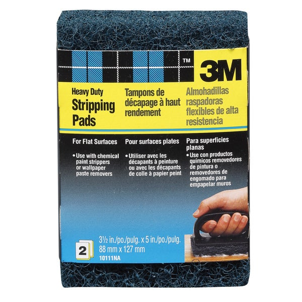 3M 10111NA Heavy Duty Stripping Pads for Flat Surfaces