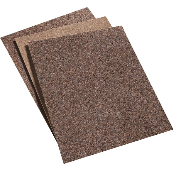 Norton 47765 Assorted Pre-Cut Sandpaper Sheets 5 Pack