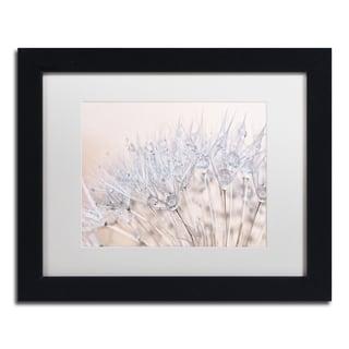 Cora Niele 'Dandelion Dew II' Matted Framed Art