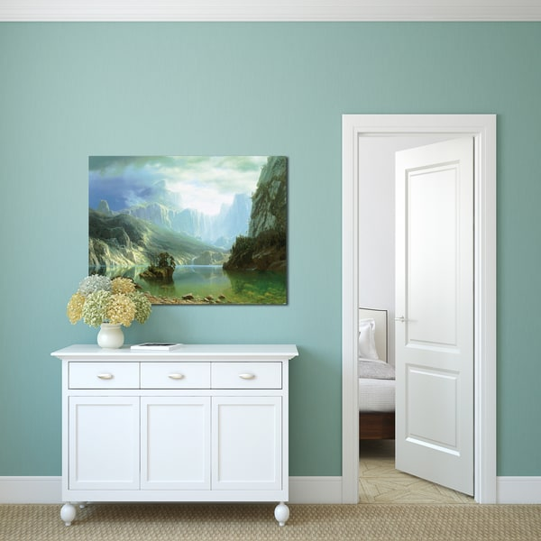 Portfolio Canvas Decor Albert Bierstadt 'Sierra Navada' Gallery Wrapped Canvas Art 20004827