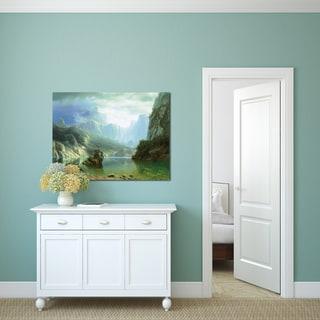 Albert Bierstadt 'Sierra Navada' Gallery Wrapped Canvas Art