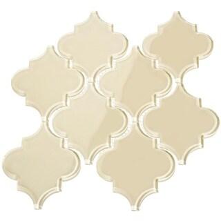 Arabesque Water Jet Tiles - Cream (7.04 Square Feet Per Case)
