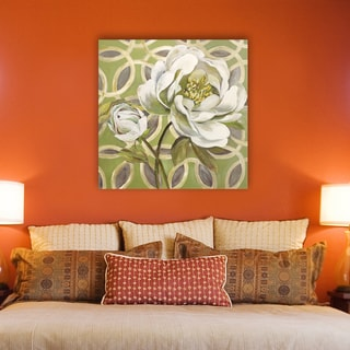 Portfolio Canvas Decor Sandy Doonan 'Flora Pattern II' Canvas Stretched and Wrapped Print Wall Art