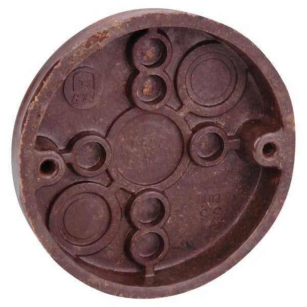 "Thomas & Betts 3060 3-1/2"" Round Box With Nails"