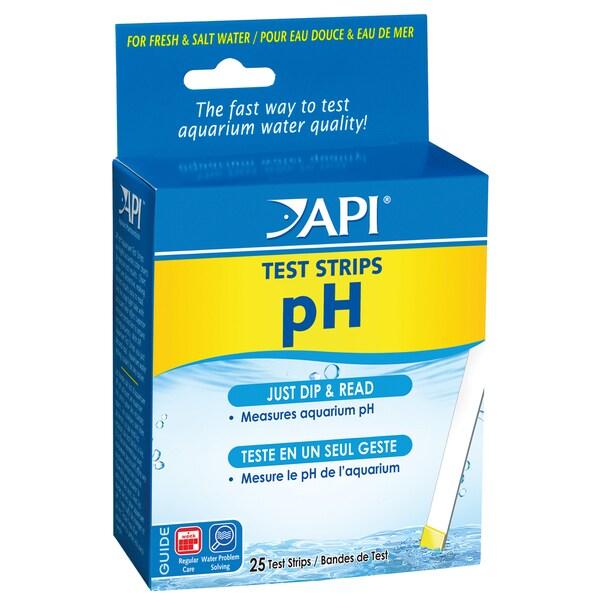 API Aquarium Pharmaceuticals Inc 33F 25 PH Aquarium Test Strips