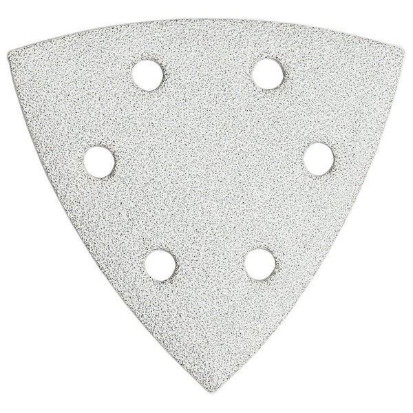 Bosch SDTW060 White 60 Grit Detail Triangle Hook & Loop Sanding Sheets
