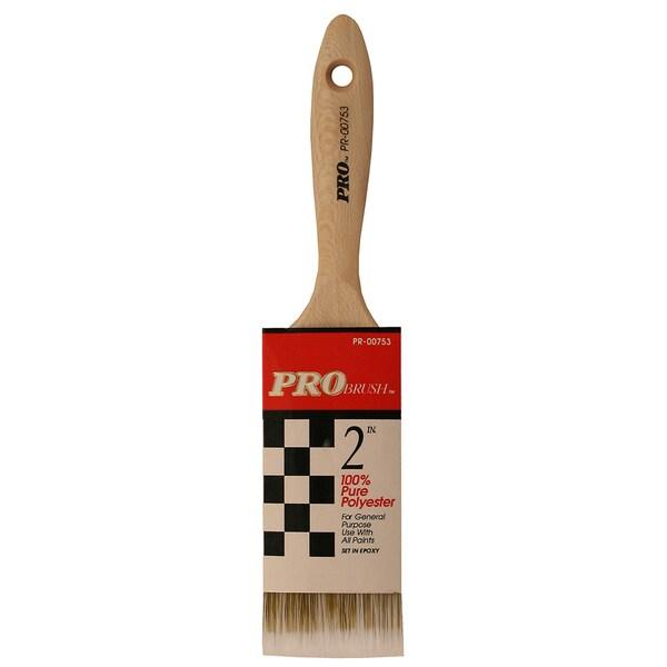 "Gam PR00753 2"" Pro Brush Polyester Paint Brush"