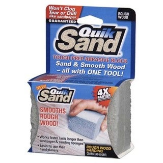 Quik Sand 31412 Rough Wood Abrasive Sanding Block