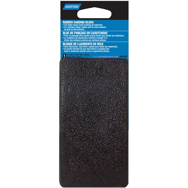 Norton 01889 Rubber Sanding Block
