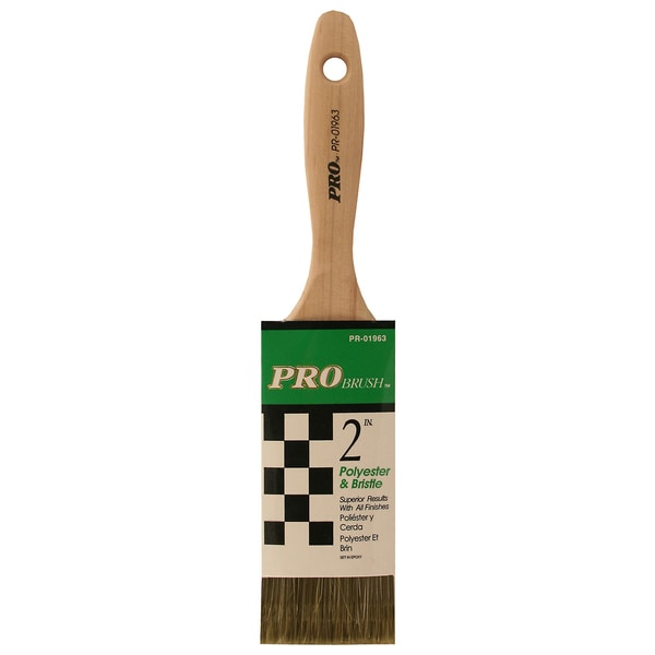 "Gam PR01963 2"" Pro Brush Polyester & Bristle Paint Brush"