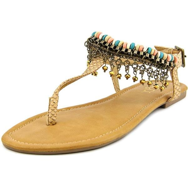 Sugar Women's 'Paza' Tan Synthetic Sandals