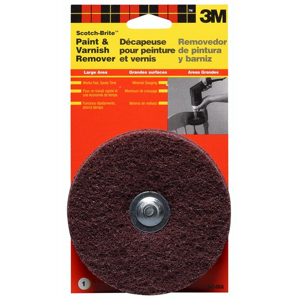 3M 9414NA Scotch-Brite Drill Mounted Paint & Varnish Stripper