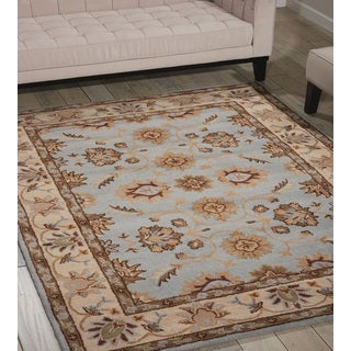 Safavieh Handmade Legacy Light Blue Wool Rug 8 X 10