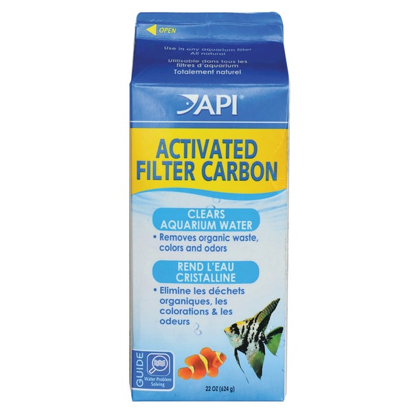 API Aquarium Pharmaceuticals Inc 76C 28-ounce Activated Filter Carbon