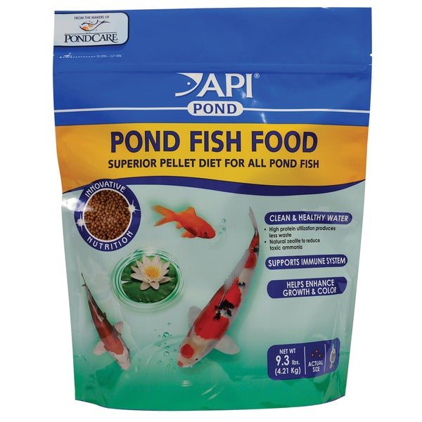 API Aquarium Pharmaceuticals Inc 198G 9.3 Lb Pond Fish Food