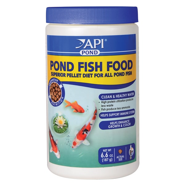 API Aquarium Pharmaceuticals Inc 198A 6.6-ounce Pond Fish Food