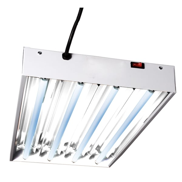 Hydrofarm FLT24 2-feet Four Tube T5 Fluorescent Light System