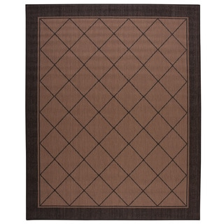 Nourison Patio Natural Area Rug (7'9 x 9'9)