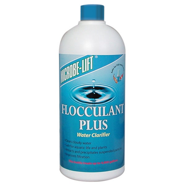 Microbe Lift FPLUS16 16-ounce Flocculant Plus