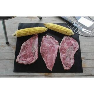 Black Aluminum BBQ Grill Mat