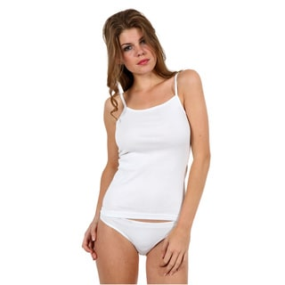 Women's 100-percent Cotton Camisole Tank Top