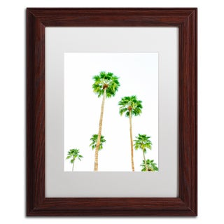 Ariane Moshayedi 'Palms 6' Matted Framed Art