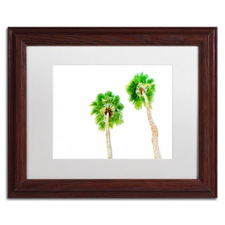Ariane Moshayedi 'Palms 5' Matted Framed Art