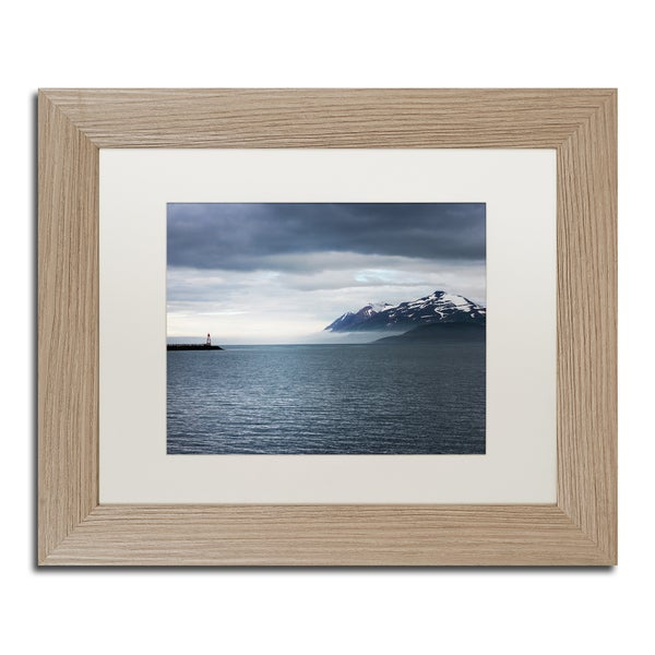 Philippe Sainte-Laudy 'I Walk the Line' Matted Framed Art