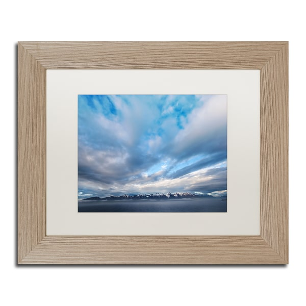 Philippe Sainte-Laudy 'When the Stillness Comes' Matted Framed Art