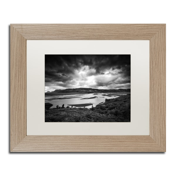 Philippe Sainte-Laudy 'The Onset of Darkness' Matted Framed Art