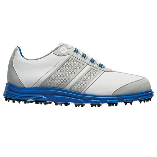 FootJoy Junior Superlite CT Spikeless Golf Shoes 45045 2014 White/Blue