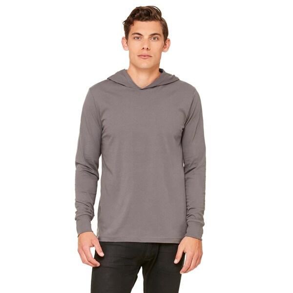 Unisex Jersey Long-sleeve Asphalt Hoodie