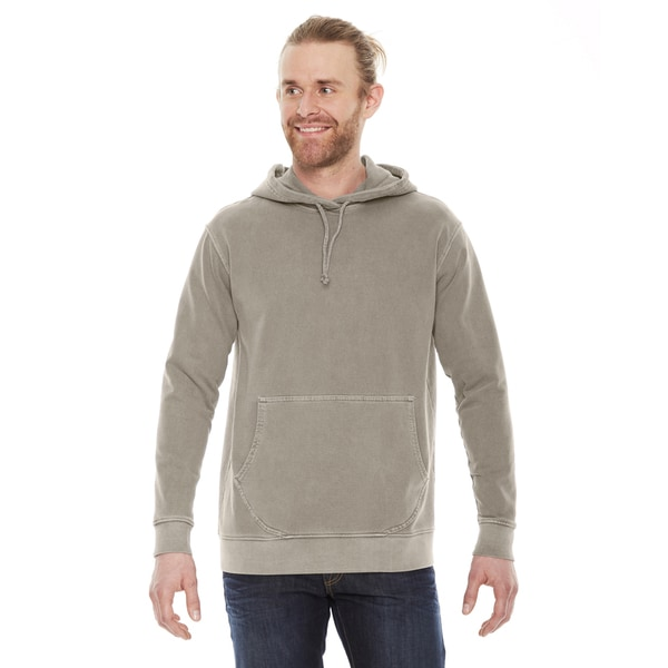 Unisex Mocha Cotton French Terry Hoodie