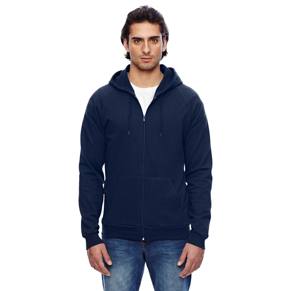 Unisex California Fleece Zip Navy Hoodie