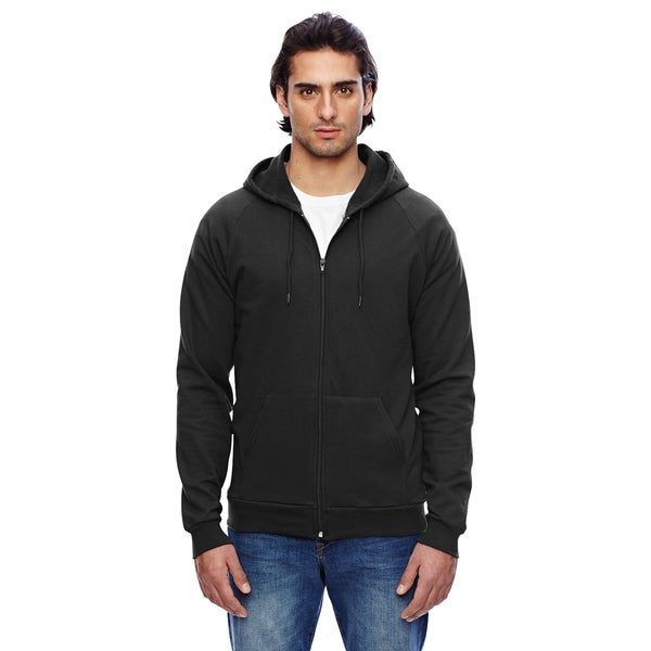 Unisex California Fleece Zip Black Hoodie