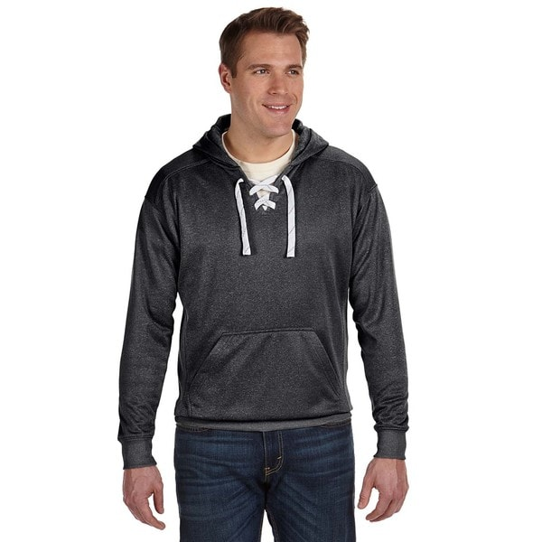 Sport Lace Men's Black Poly Hood (XS,XL)